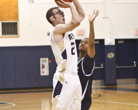 Six players reach double digits as Gallaudet picks up first win of the season