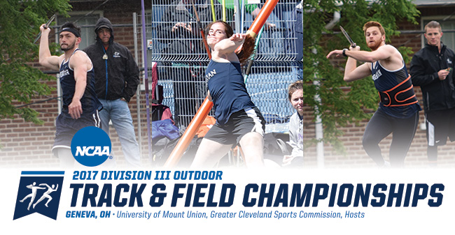 Condo, Duncan & Guarino to Compete in 2017 NCAA DIII Outdoor Track & Field Championships