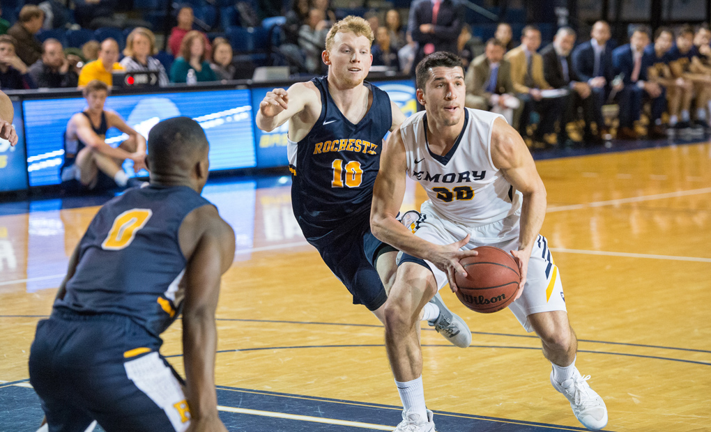 No. 24 Emory Men's Basketball Hosts Wash U & Chicago
