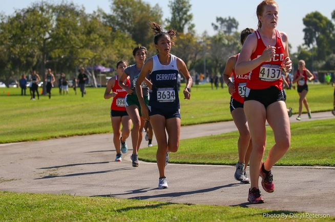 Grace Cervantes and the Falcons finished in 17th place