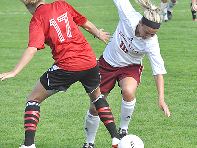 Women's Soccer Battles To Double OT Tie