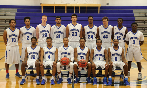 M. Basketball Team Photo