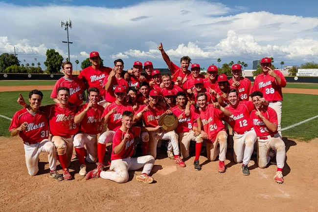 CHAMPIONS!! Mesa Baseball Wins the Region I Championship in an 8-7 Walk-Off