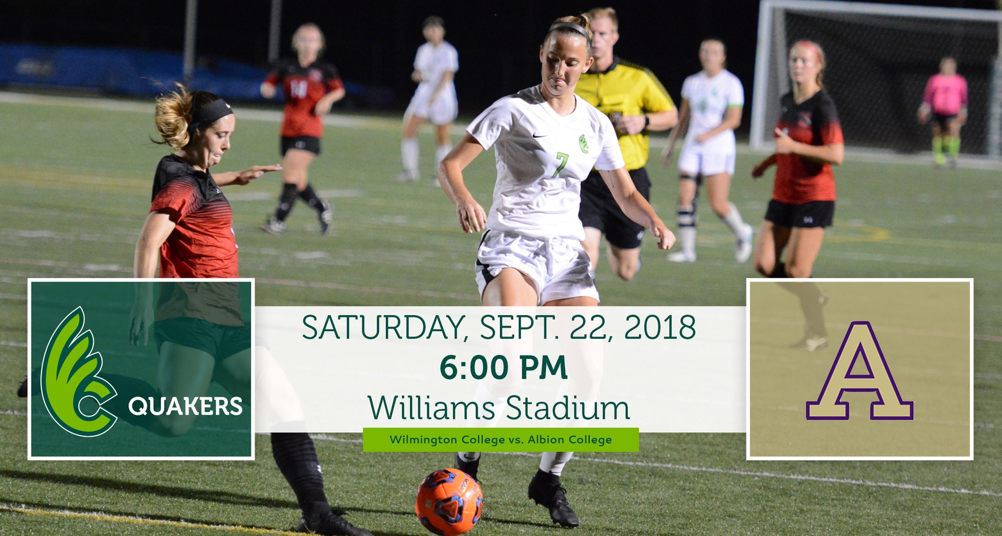 Women's Soccer Faces Albion in Final Non-Conference Contest