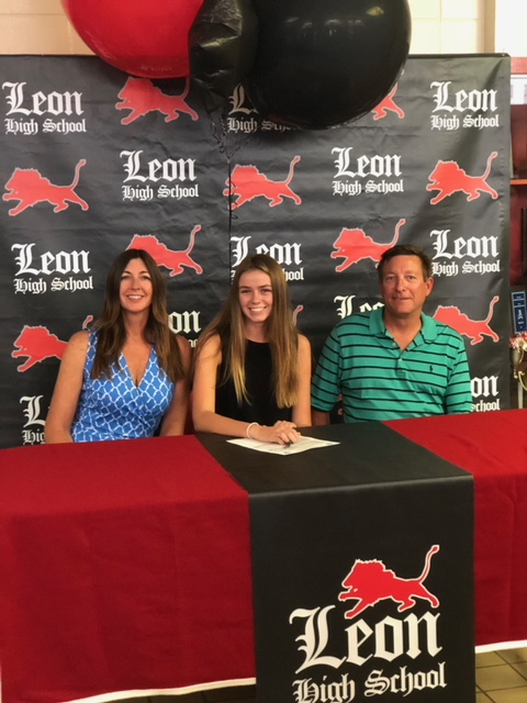 Emma Long makes it official