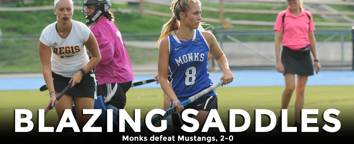 Monks Saddle Mustangs with 2-0 Setback