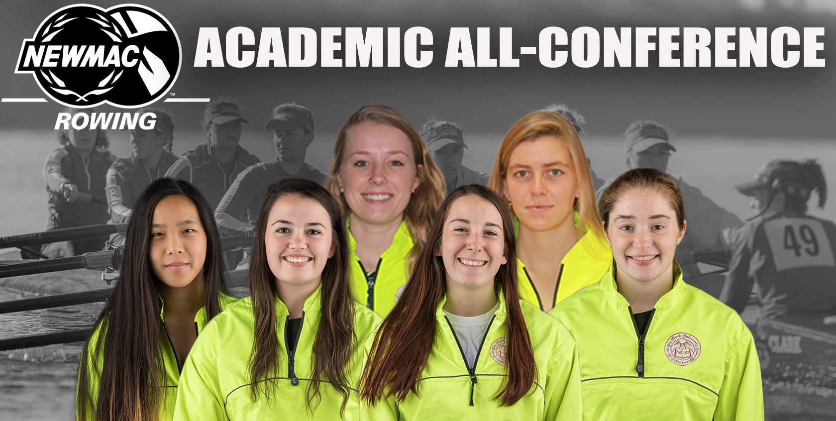 Rowing Places Six on NEWMAC Academic All-Conference Team