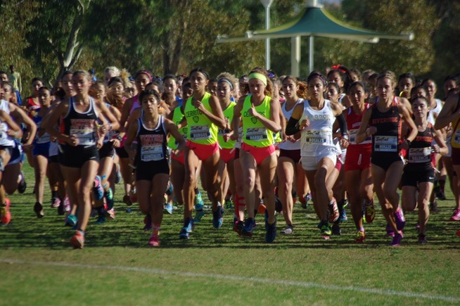 The Falcon women's team placed ninth at the SoCal Championships