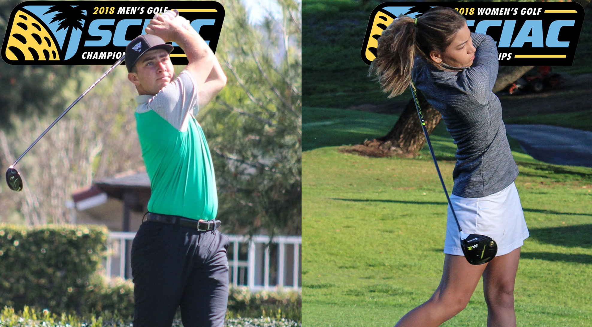 Men's and Women's Golf set for SCIAC Championships