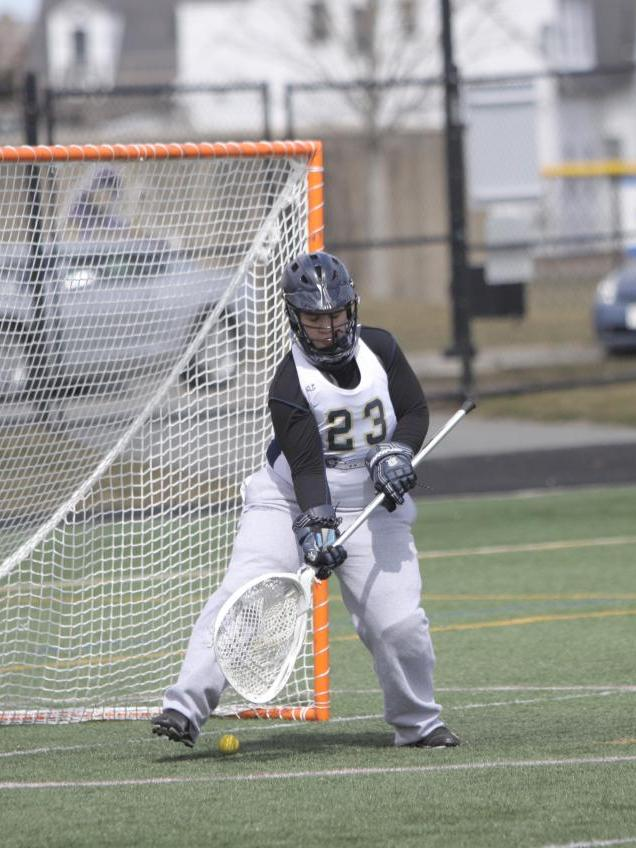 Prokscha Nets Hat Trick, Langley Makes 13 Saves As Women's Lacrosse Drops 12-6 Non-League Decision At Becker