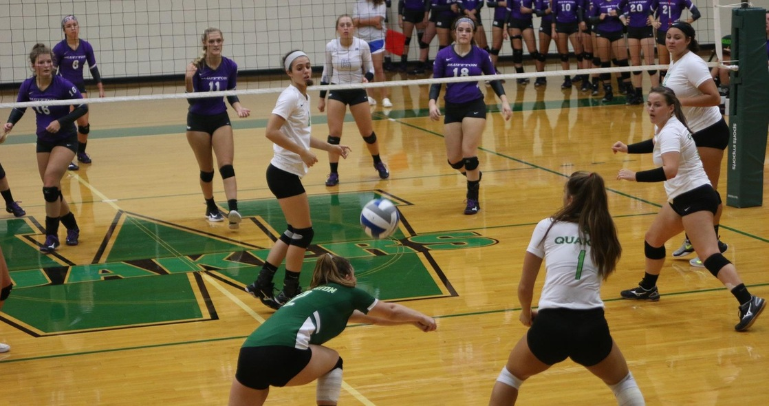 Volleyball Falls at Muskingum