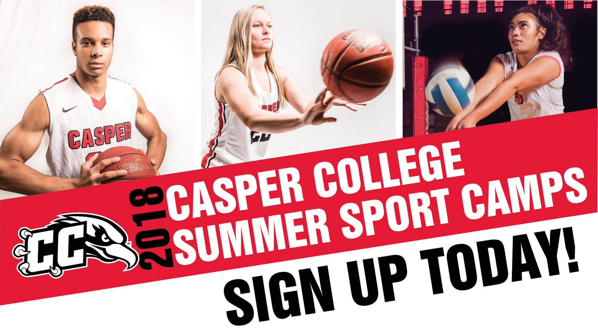 2018 Casper College summer sports camps. Sign up today!