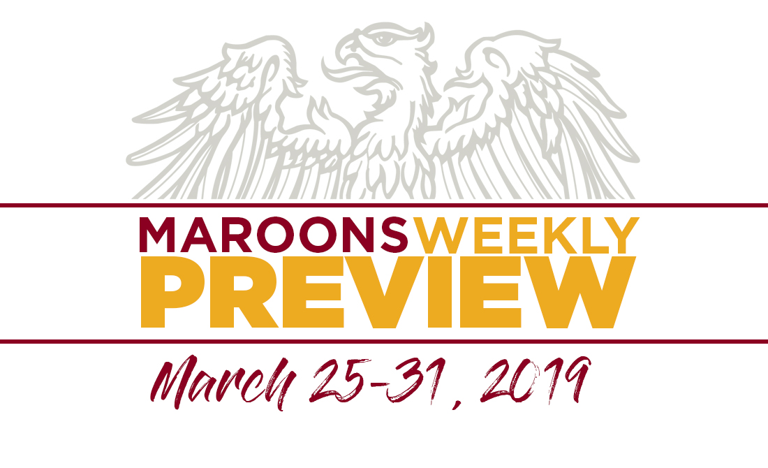 UChicago Athletics Preview: March 25-31