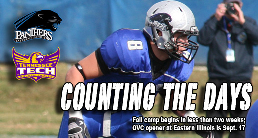 Golden Eagle Football Countdown: OVC schedule opens at Eastern Illinois