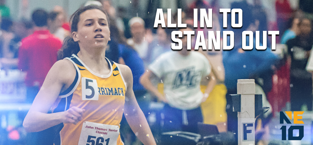 Embrace the Victory: Merrimack's Muscaro Named National Athlete of the Week