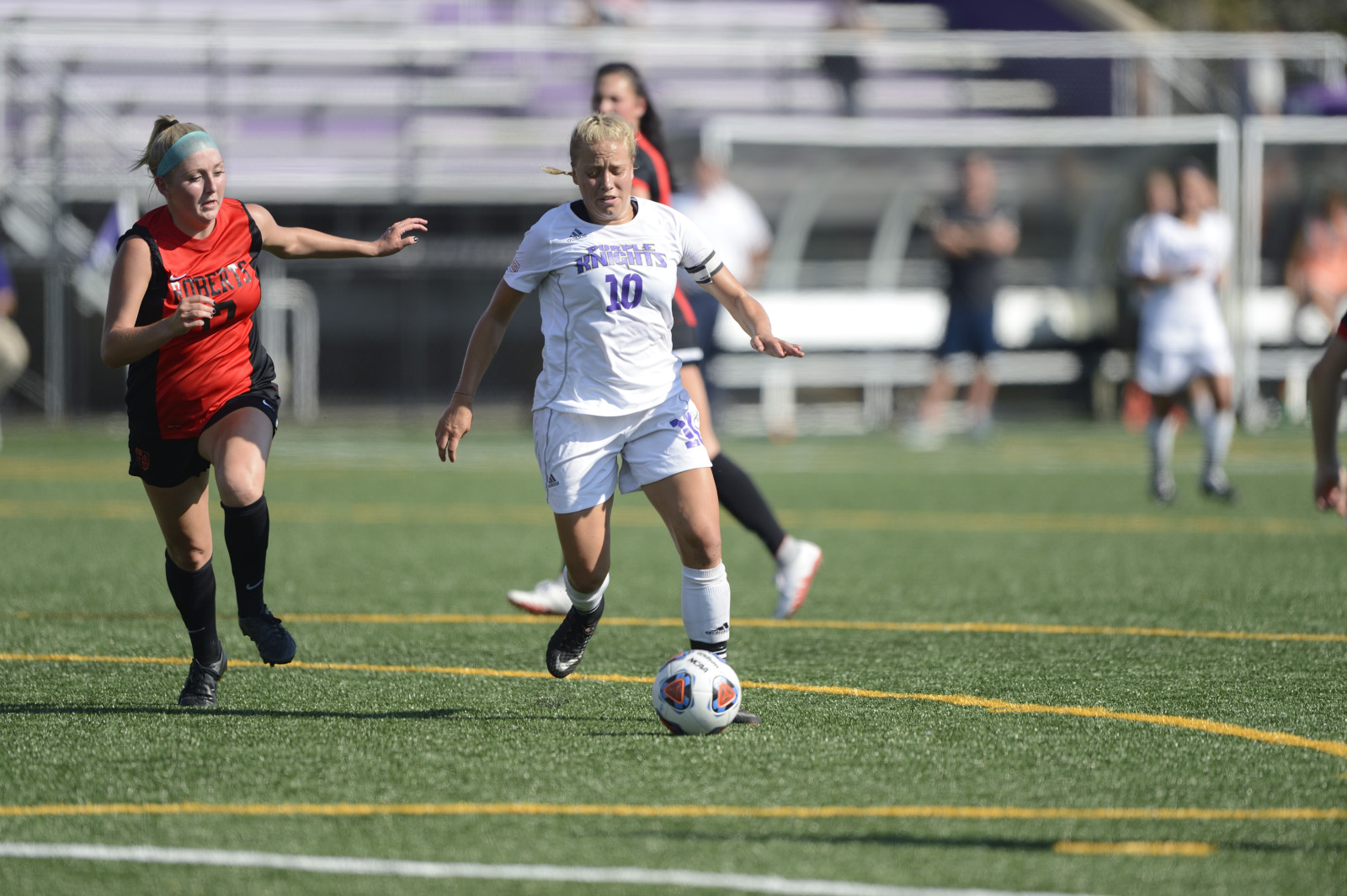 Big Second Half Lifts Bridgeport Women's Soccer To 3-0 Season-Opening Win Over AIC