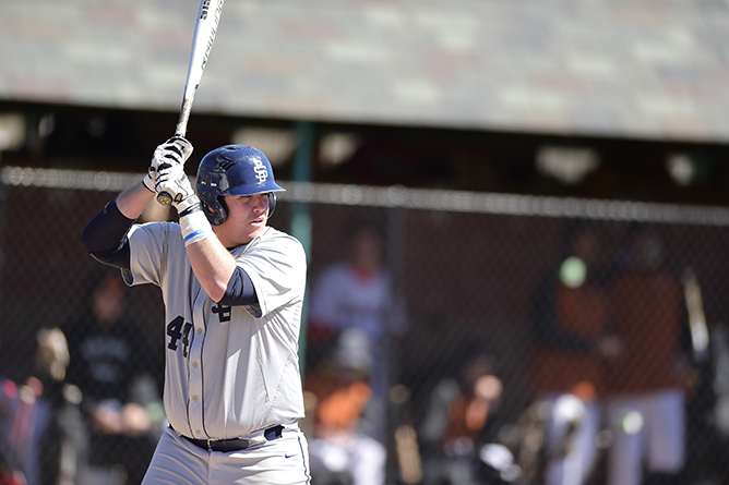 Lebanon Valley Gets Past Behrend Baseball