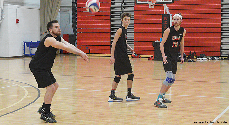 Men's Volleyball Tests Itself Against Top Teams