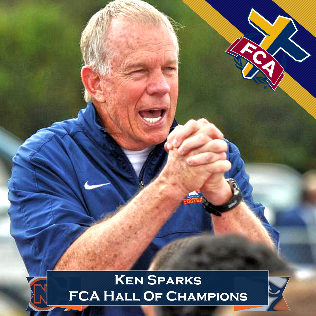 Sparks named to Fellowship of Christian Athletes' Hall of Champions