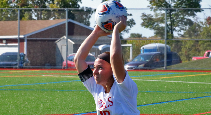 Women's Soccer Team Falls to Keuka