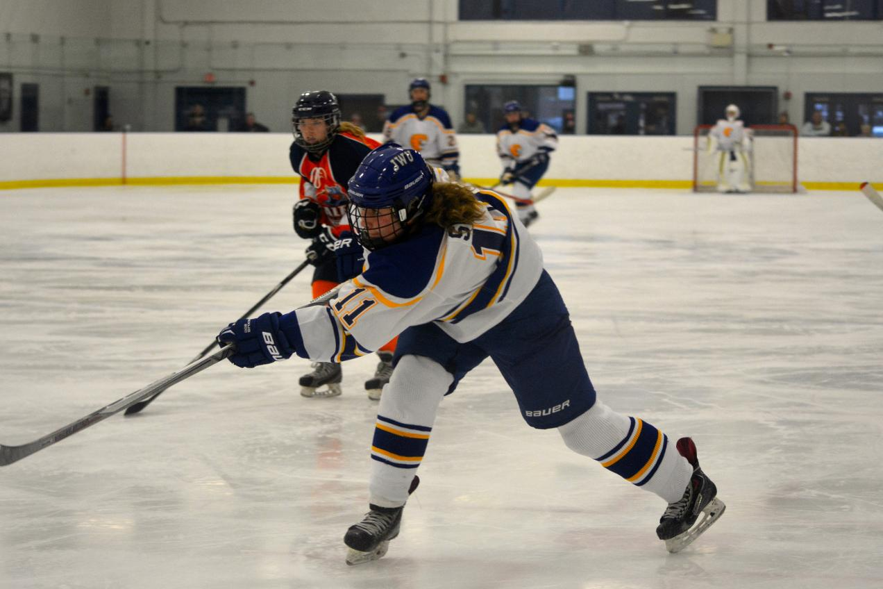Women's Hockey Drops 6-0 Decision At Stevenson