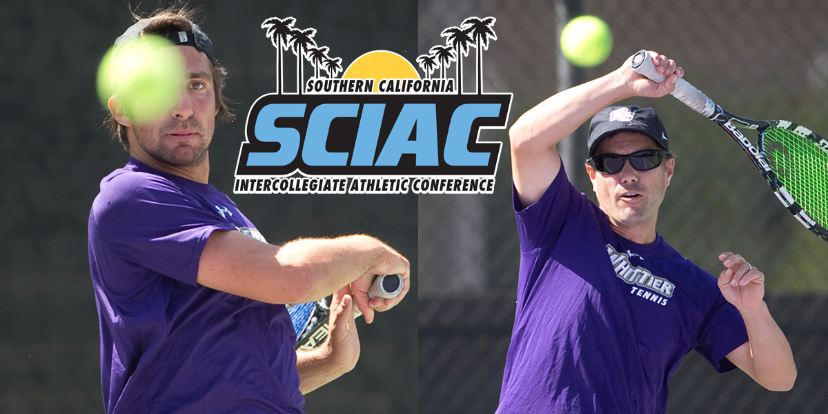 Agustin Lombardi and Elmer Van Butselaar named 2nd Team All-SCIAC