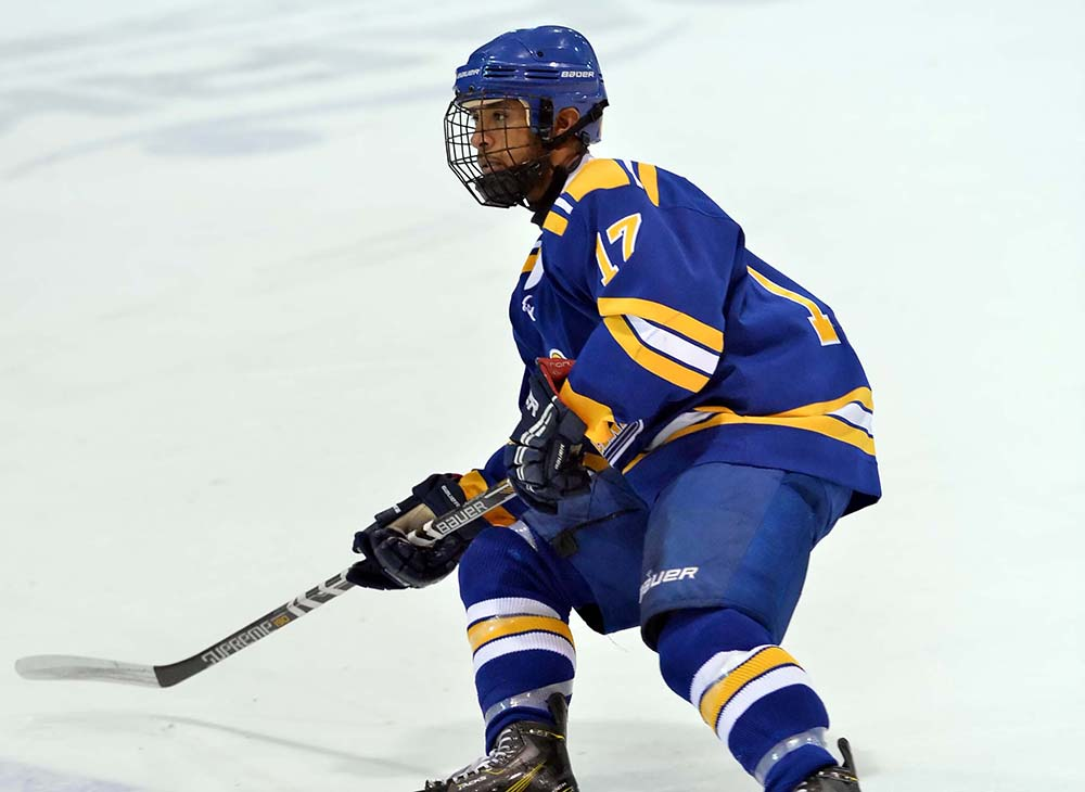 Men's Ice Hockey Defeated by Plymouth State, 5-2