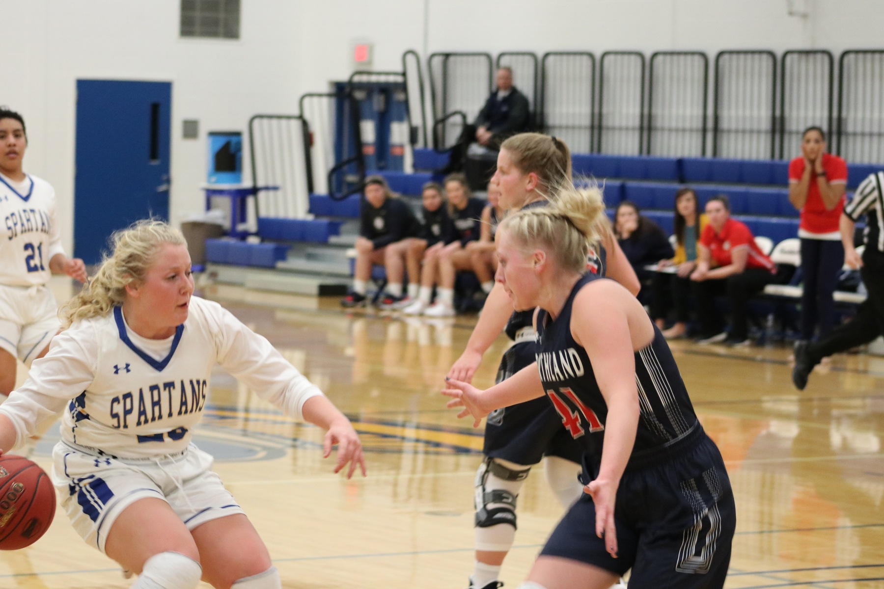 Lady Spartans Fall to 4th Ranked Northland