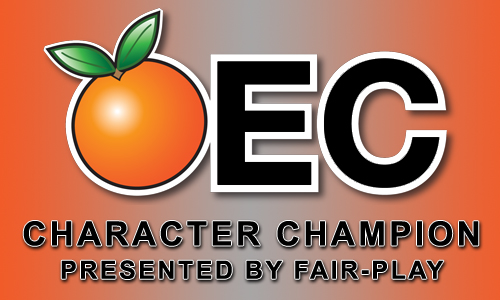 Orange Empire Conference Character Champion Award Presented by Fair-Play Scoreboards