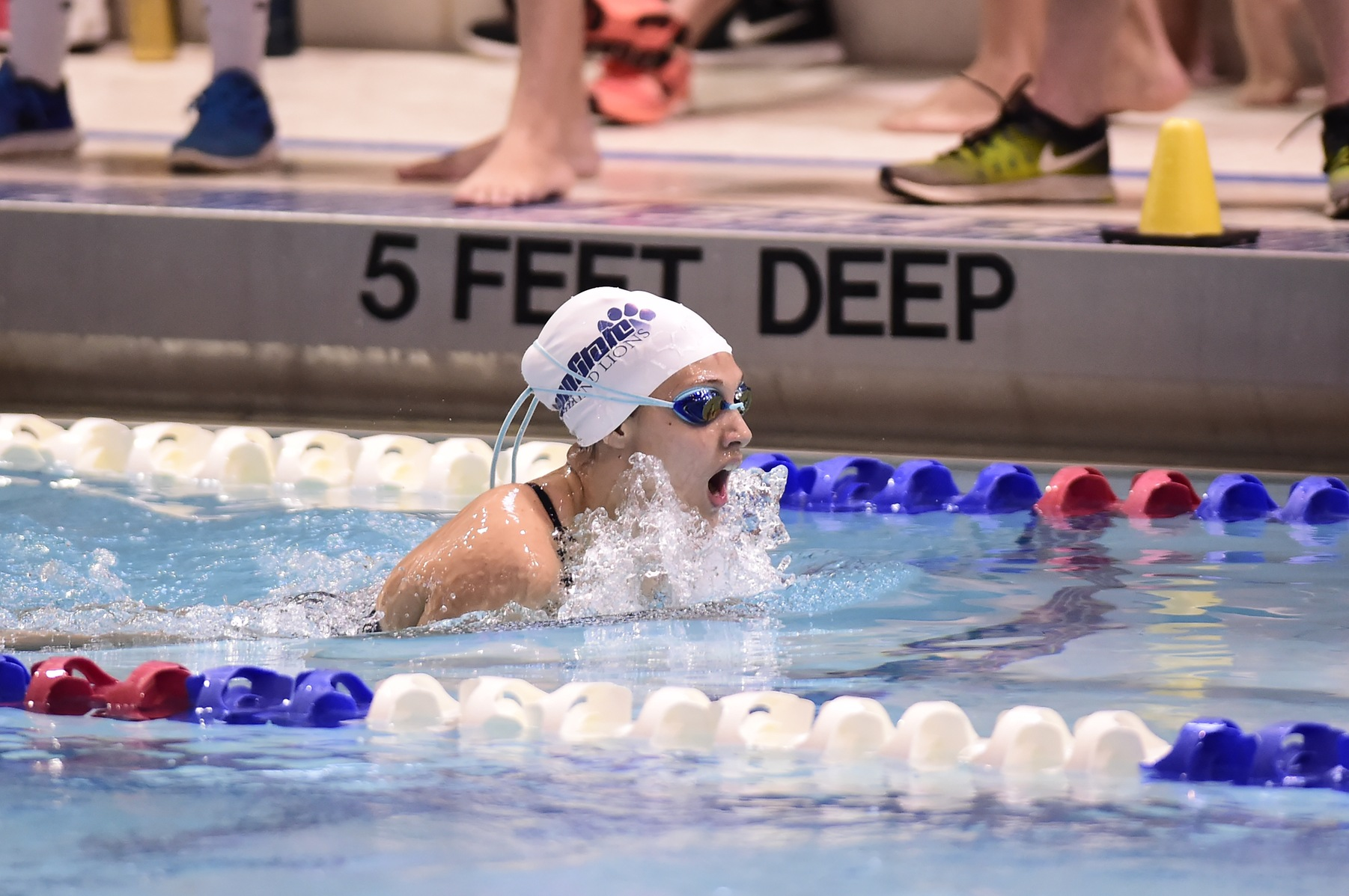 Lowery Paces Women's Swimming Against Malone