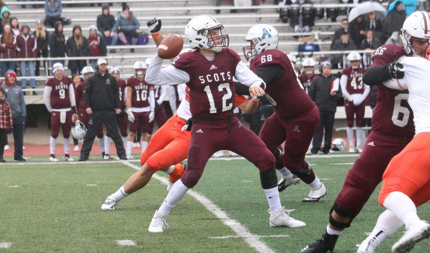 Football Hangs with Olivet but Can't Complete Upset