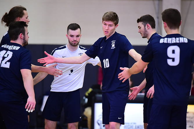 Behrend Men's Volleyball Travels to D'Youville Tonight
