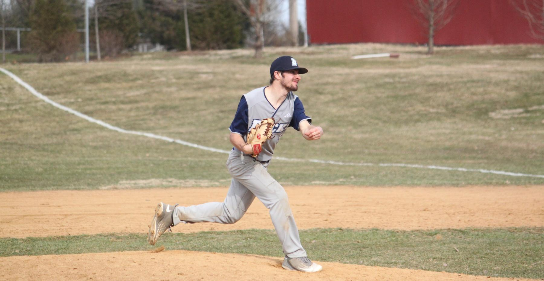 Baseball Splits Region Doubleheader with Union