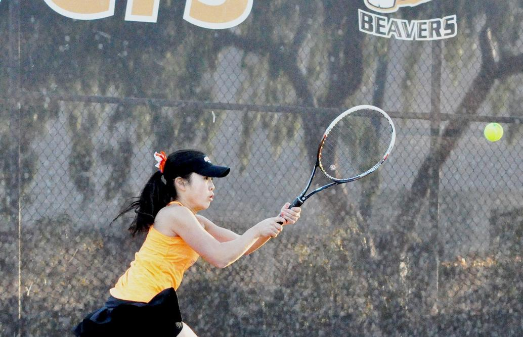 Women's Tennis Wins First Nationally Ranked Match