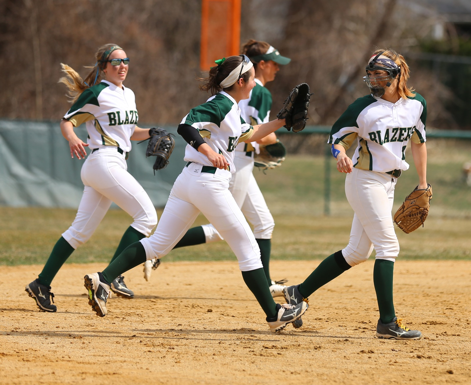 Softball Swept In NECC Doubleheader At Becker