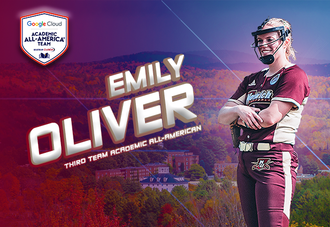 Emily Oliver Academic All-American