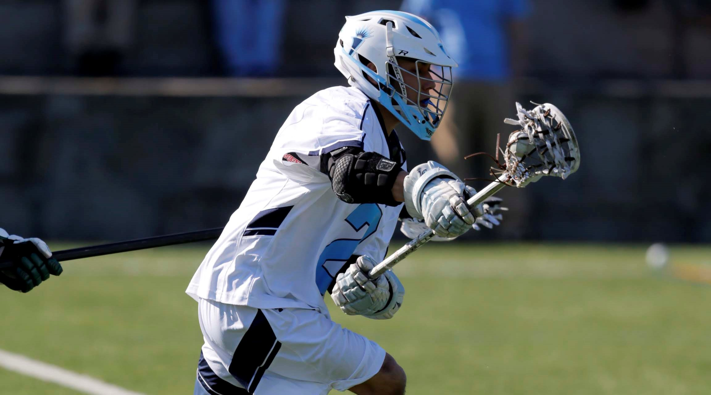 Men's Lacrosse Nipped in in GNAC Semifinals on Late Becker Goal