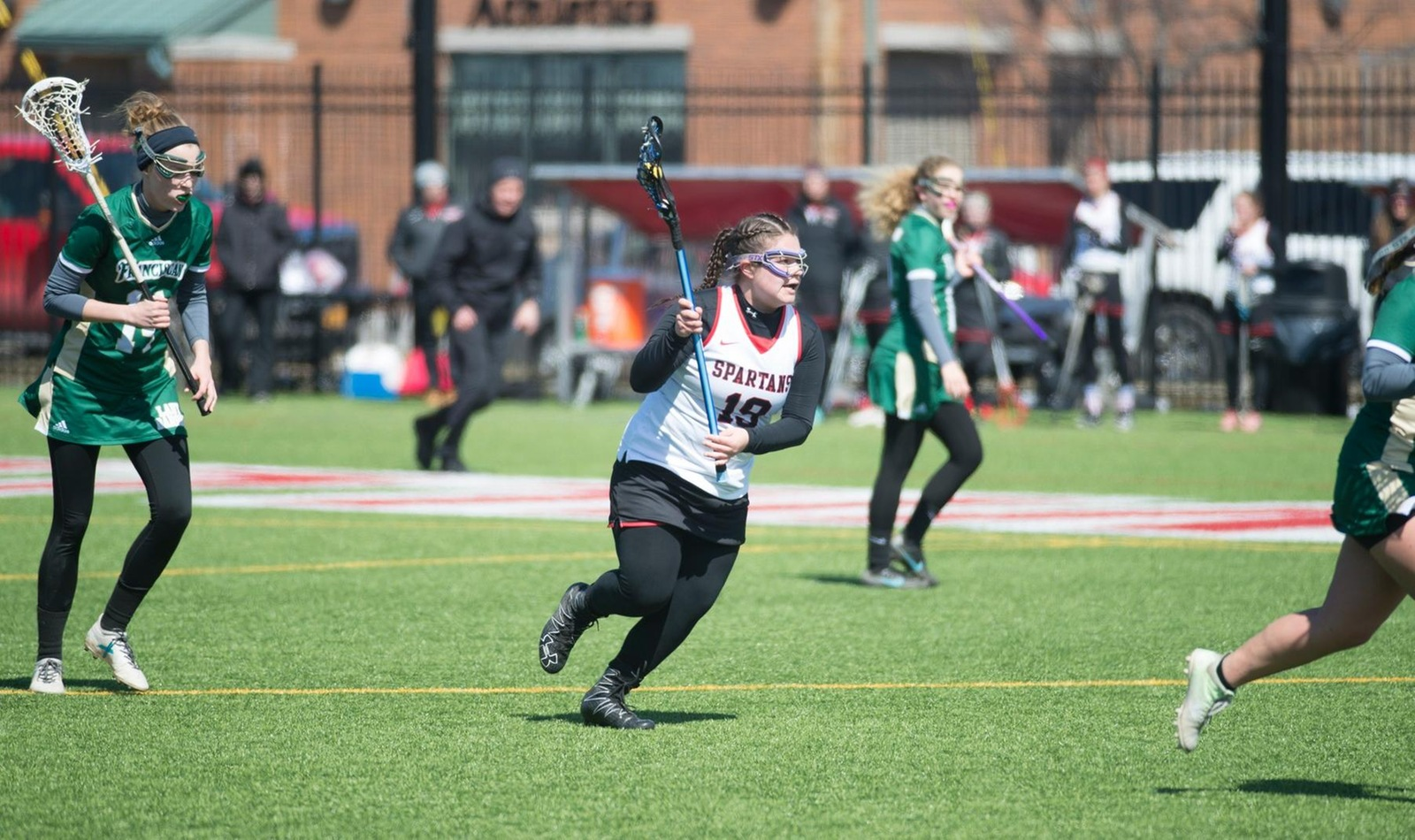 Comeback Falls Short as Women's Lacrosse Loses to Wells