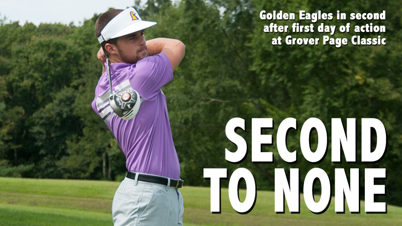 Golden Eagles in second after Day One of Grover Page Classic