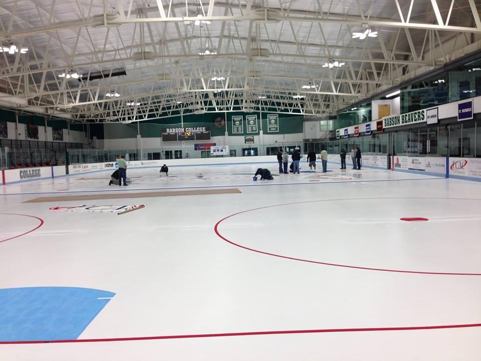 babson college hockey rink Inside look at babson men's ice hockey babsonathletics loading  babson college 101:  how to make an ice hockey rink - duration:.
