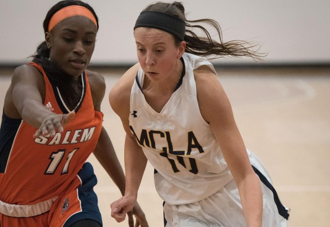 Women's Basketball struggles from floor in 49-42 loss to Bridgewater State