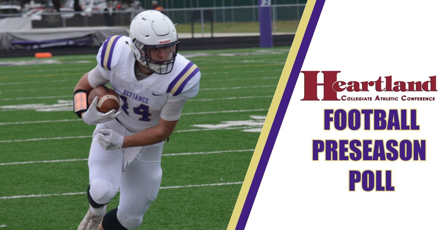 HCAC Announces Football Preseason Poll