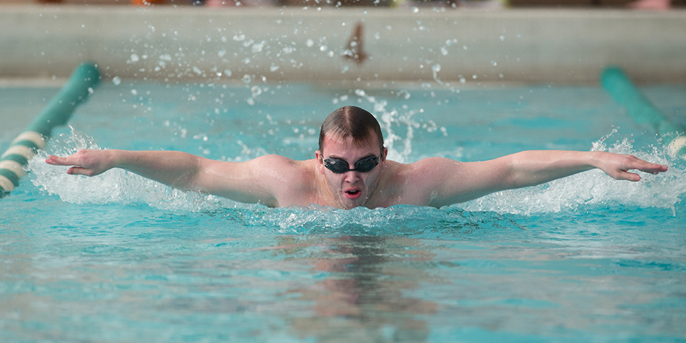 Men's Swimming & Diving Perform Well at the 5th Annual Louise Goodrum Invitational