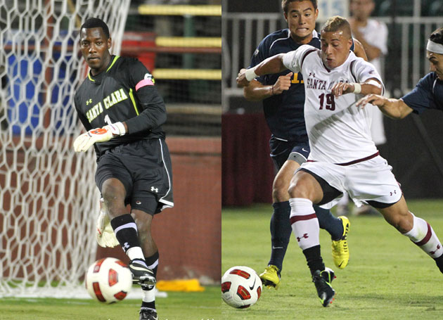 Named To All-Far West Region Teams, Honors Keep Pouring In For Santa Clara's Hurtado and Jackson