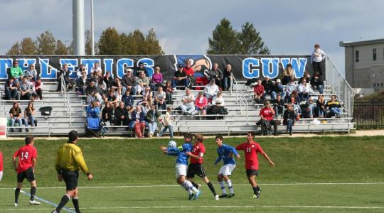 Falcon men's soccer falls 1-0 to Augsburg