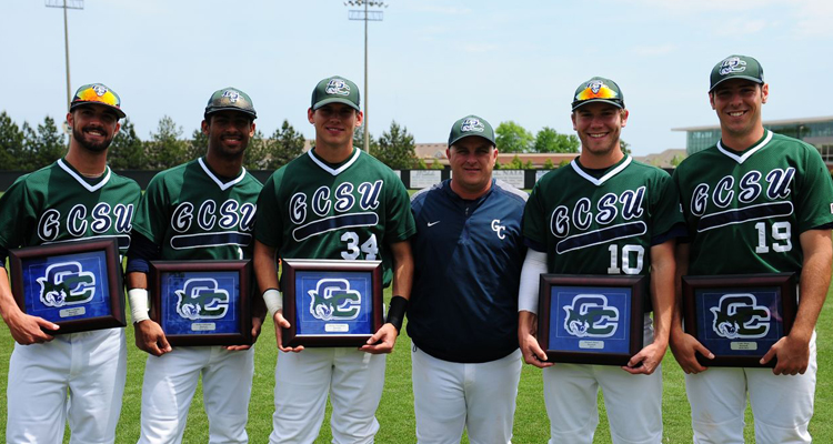 GC Baseball Flattens Falcons on Senior Day, 15-3