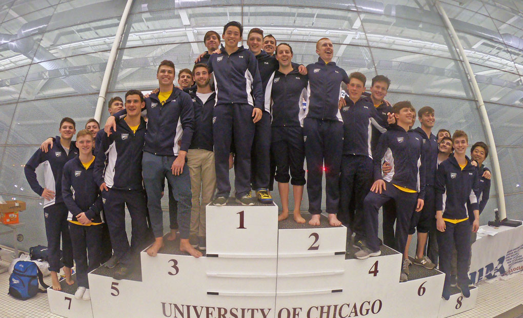 Men's Swimming & Diving Claims 21st Straight UAA Championship