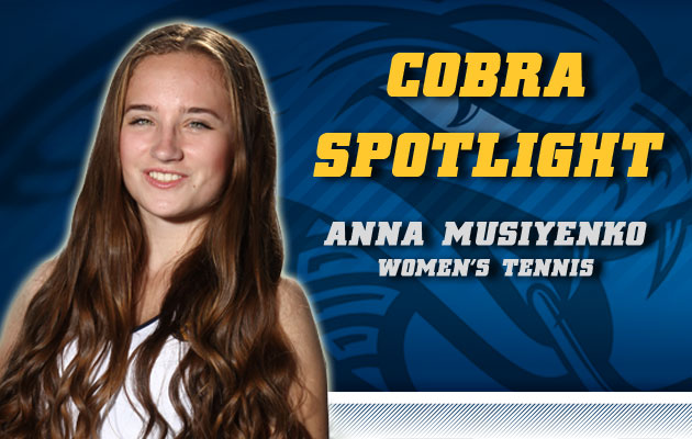Cobra Spotlight- Anna Musiyenko, Women's Tennis