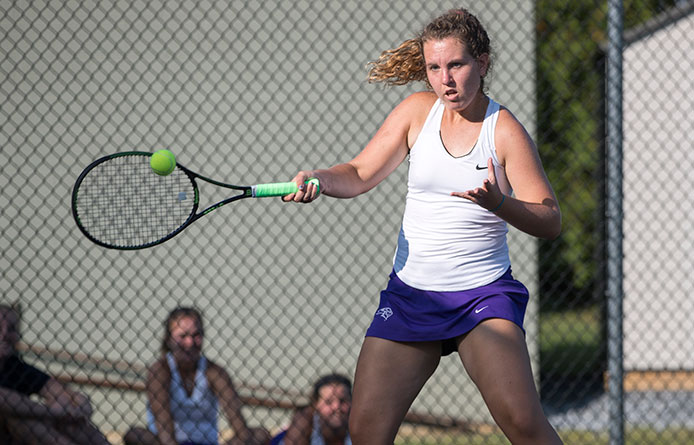 Women's Tennis Finishes Two-Match Home Weekend with Loss to Le Moyne