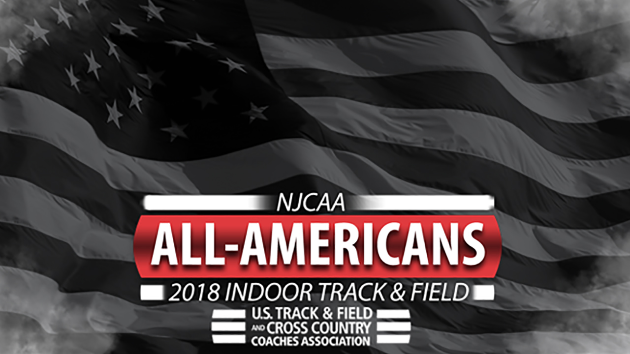 2018 NJCAA Indoor Track & Field All-Americans